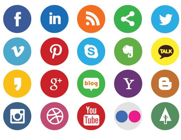 심플아이콘/sns아이콘/소셜아이콘 : 네이버 블로그