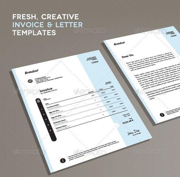 25+ parasta ideaa Pinterestissä Freelance invoice template - graphic design invoice template