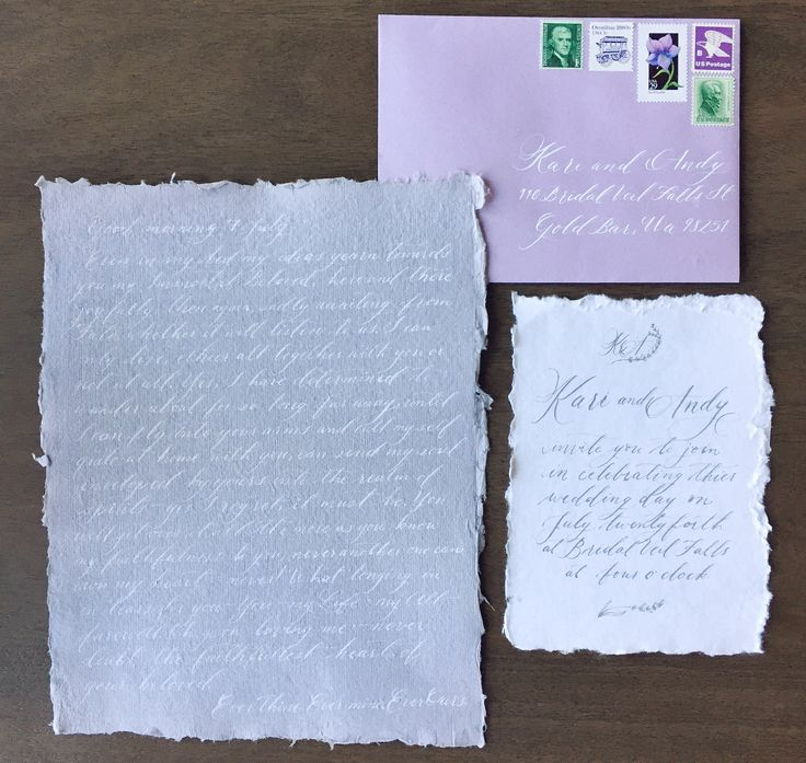Bridal Veil Falls Wedding Invitation Style Shoot with Beethoven Poem   Beginning and End Photo