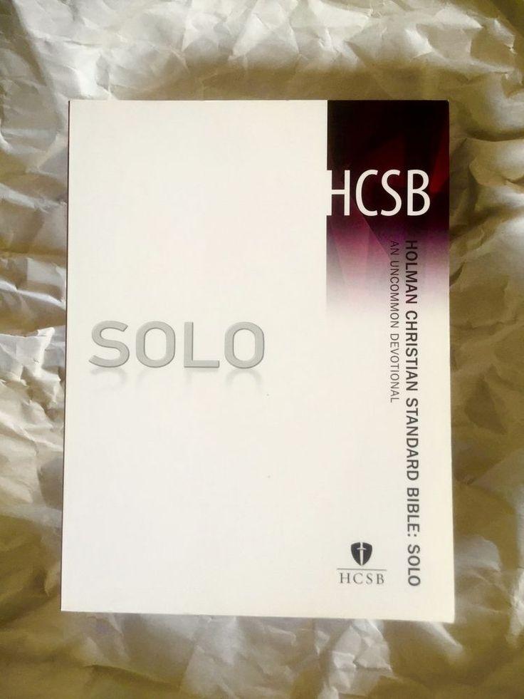 Holman Christian Standard Bible - Solo : An Uncommon Devotional by Broadman...