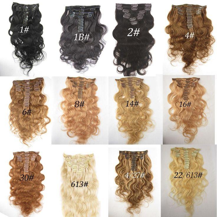 Mega Hair Tic Tac Ondulado Cabelo Humano 46cm – 7 Peças 70 gramas  #1 /#1B /#2 /#4 /#6 /#8 /#14 /#16 /#30 /#613 /#4.27 /#22.613 //Price: $235.00 & FREE Shipping