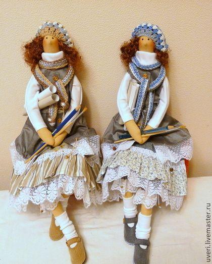 "Куклы Тильды ручной работы. Ярмарка Мастеров - ручная работа Кукла ""Люся"". Handmade."