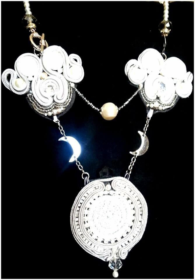 """collana """"Moon REflections"""" https://www.facebook.com/pages/E-lab-jewels/763351660369510?fref=ts"""