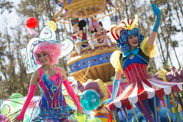 136 - See the Disney Festival of Fantasy Parade at Magic Kingdom (Debuts March 9, 2014)