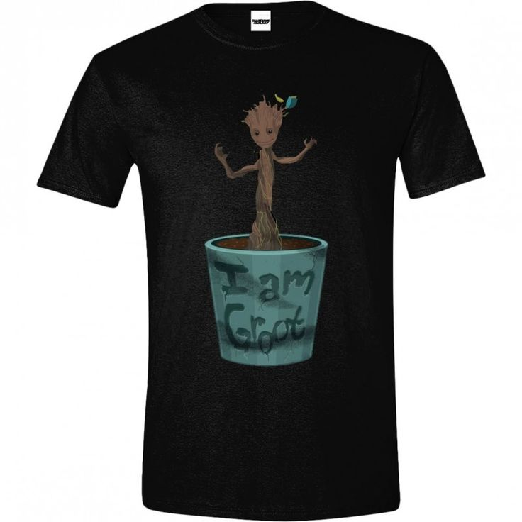 Guardians of the Galaxy - I Am Groot T-shirt - Black