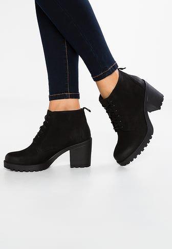 GRACE - Ankelstøvler - black
