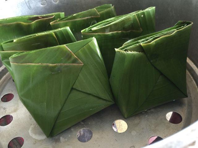 Selagiadagula Kuih Jongkong Tradisional Perak Pisang Daun Alhamdulillah