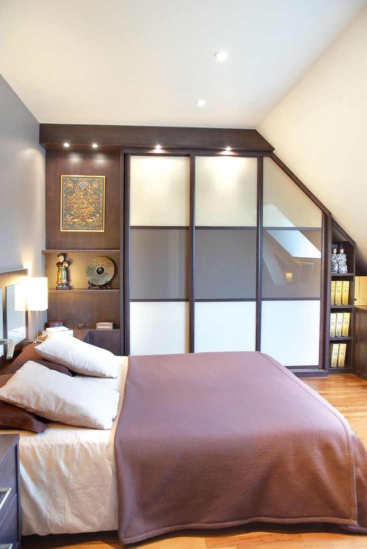 36 best rangement sous pente images on pinterest attic. Black Bedroom Furniture Sets. Home Design Ideas