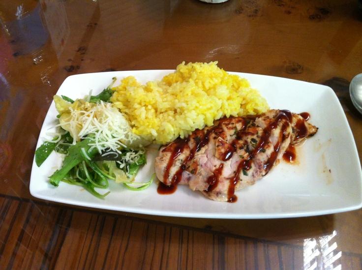 요리: 고추장굴소스 닭가슴살스테이크
