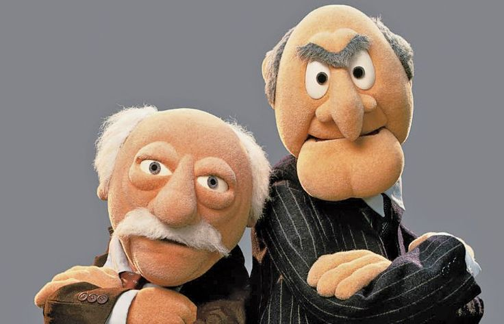 17 best images about grumpy old men on pinterest the for Balcony muppets