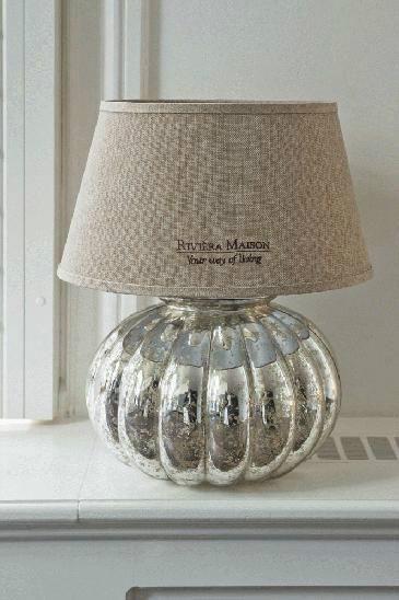 Riviera Maison - pretty lamp.