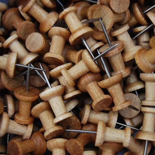 Holz-Pinnnadeln