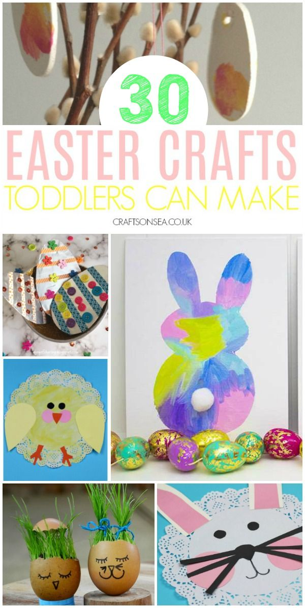 30 Easy And Fun Easter Crafts For Toddlers Easter Crafts For