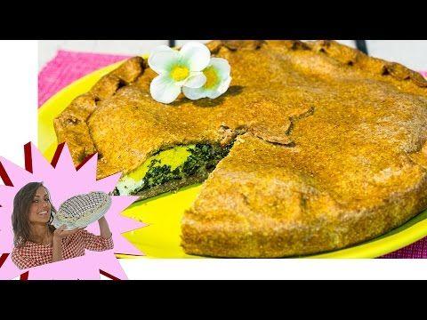 Erbazzone Vegan - Torta Salata con Spinaci per Pasqua