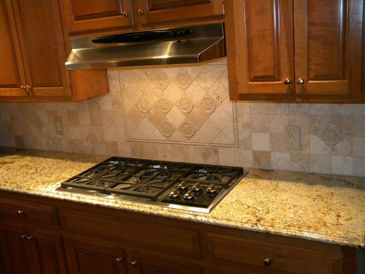 Kitchen Backsplashes With Granite Countertops Gold