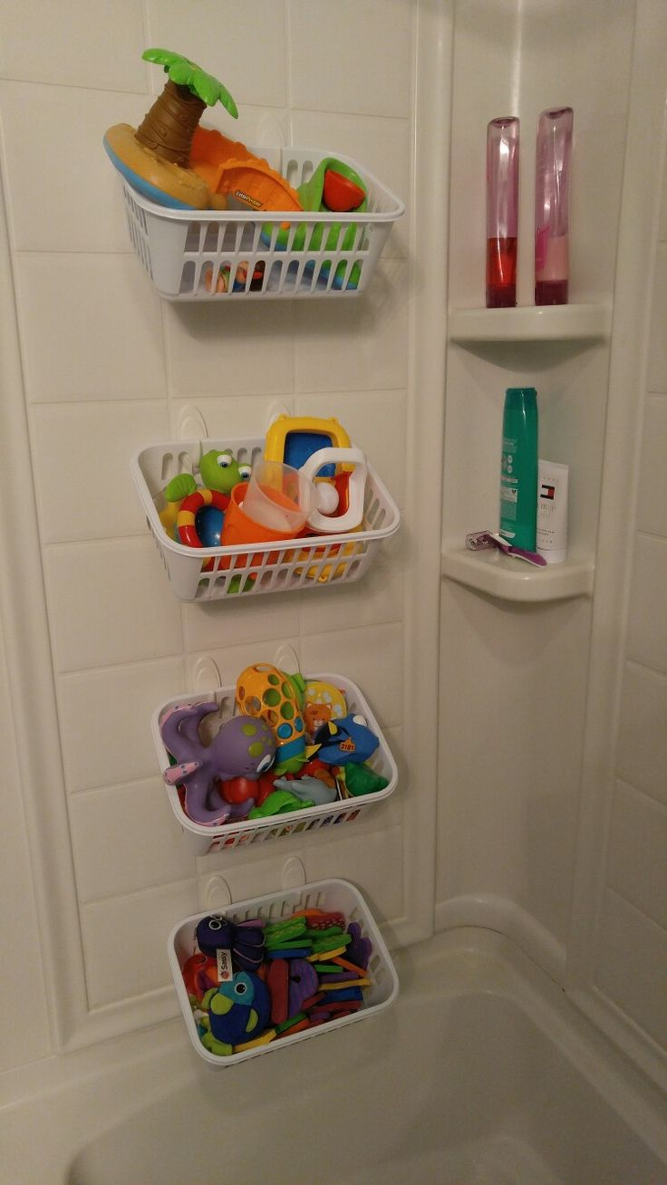 bathroom toy storage ideas 25 best ideas about bath storage on 16141