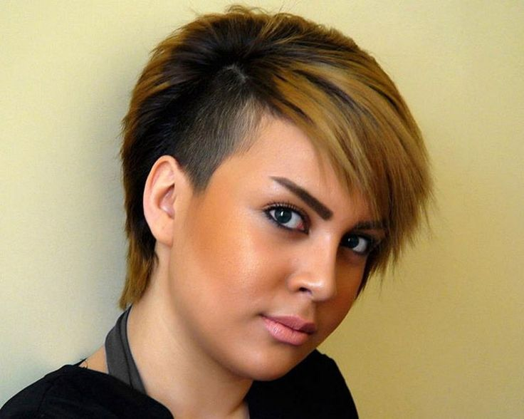 Enjoyable 1000 Images About Half Shaved Head On Pinterest Shaved Hairstyles For Women Draintrainus