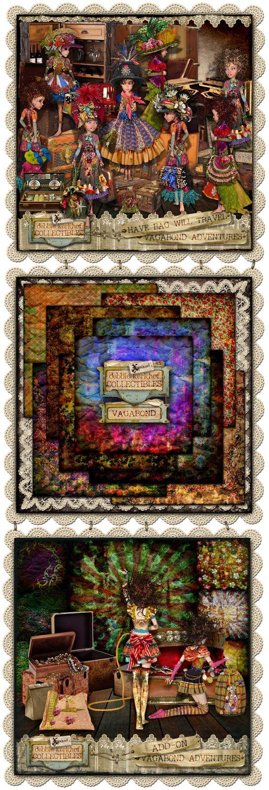 xquizart digital graphics: Vagabond