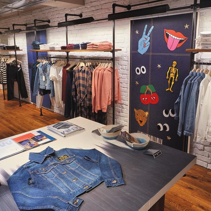 """UNIQLO DENIM FACTORY, Oxford Street, London, UK, """"Paying homage to the unique…"""
