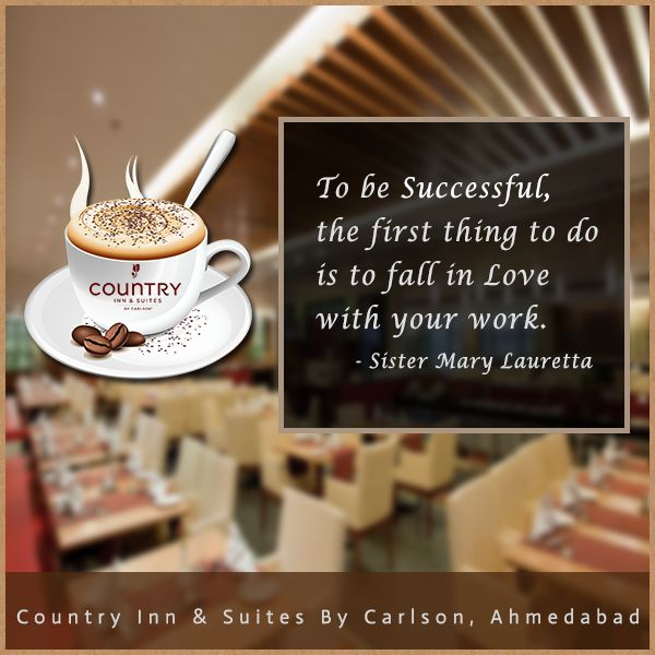 Have a Coffee: because Monday happens every Week! #CountryInnAhmedabad #MotivationalMonday