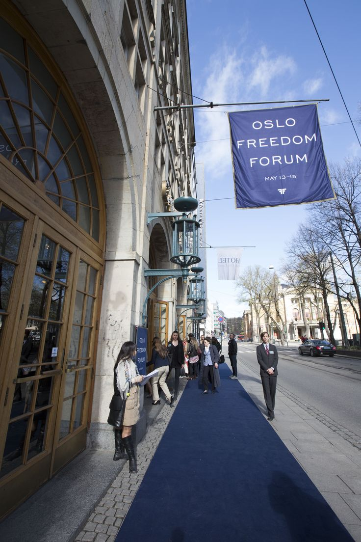 Watch the sessions from the Oslo Freedom Forum: https://oslofreedomforum.com/about-us/