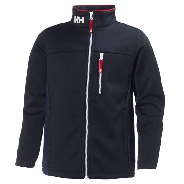 JR CREW FLEECE JACKET This slick-face fleece midlayer jacket features great design and style for young sailors.