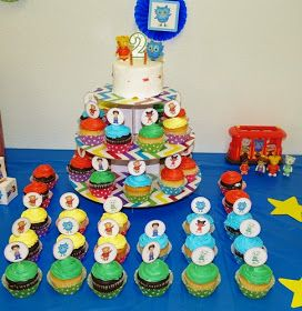 I've been writing a series of posts about our son's Daniel Tiger themed 2 nd  birthday party. On the big day all of our hard work came t...