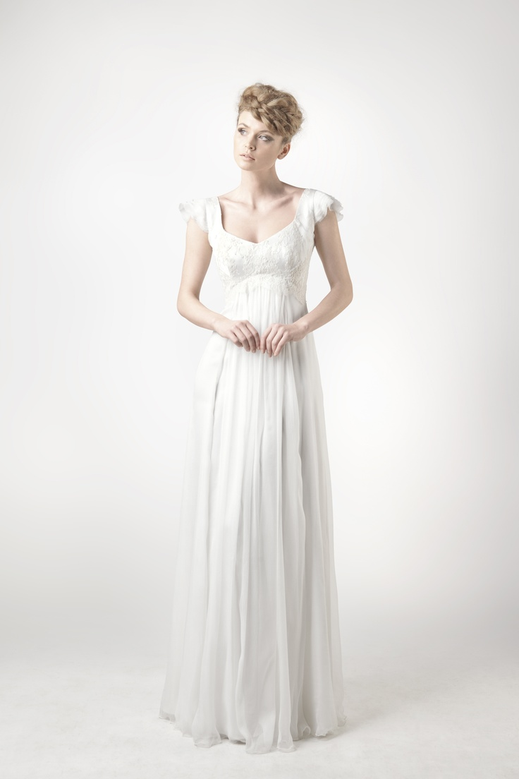 SADONI Collection 2014 - Dress SADIE in nostalgic french lace and fluid chiffon