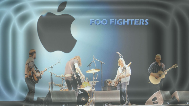 Foo Fighters iPhone 5 Music Wallpapers