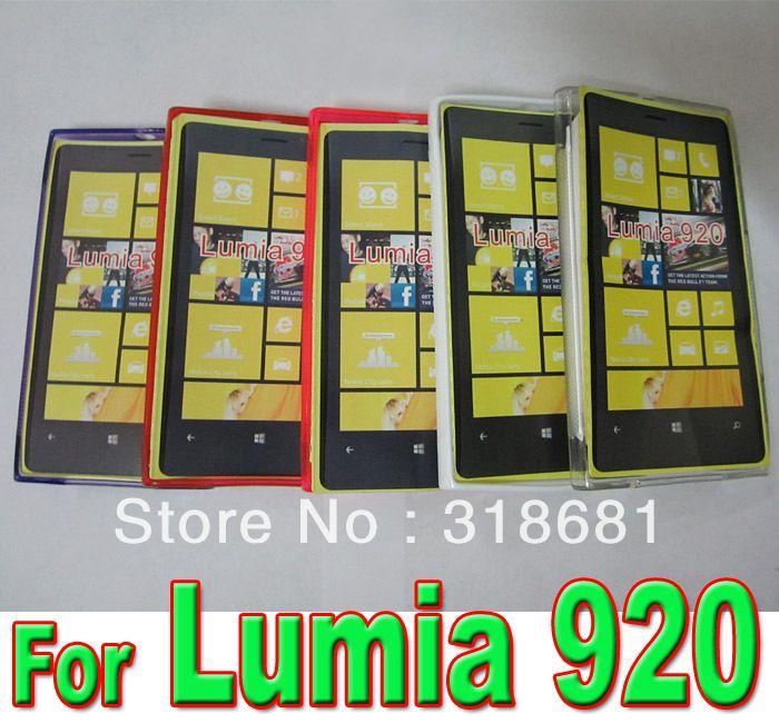 Цвета S линия чехол для Nokia Lumia 920, Тпу гель чехол для Nokia Lumia 920 100 шт. / много