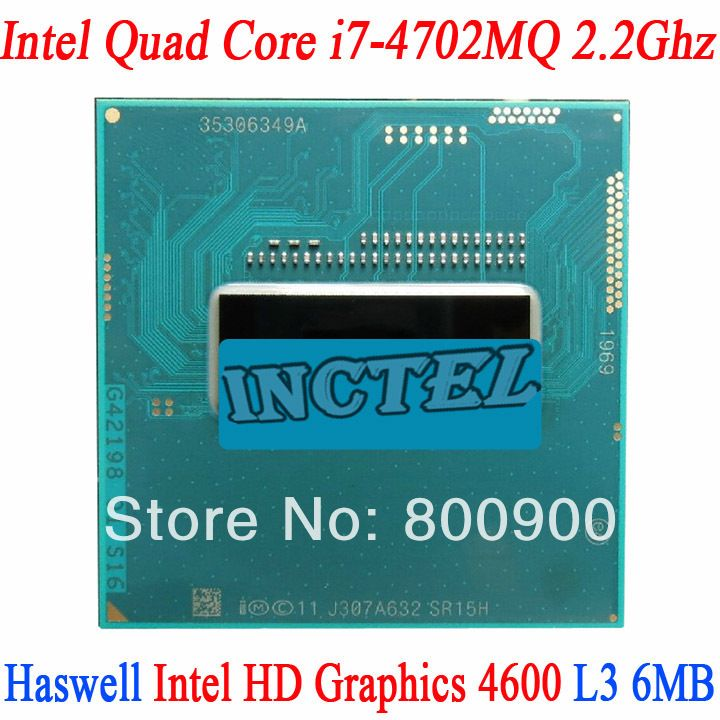 Original official version I7 4702MQ CPU SR15J 2.2-3.2G 37W low power Y410P preferred Turbo Boost Turbo technology Speedstep