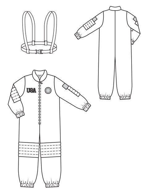 astronaut hat template - photo #23