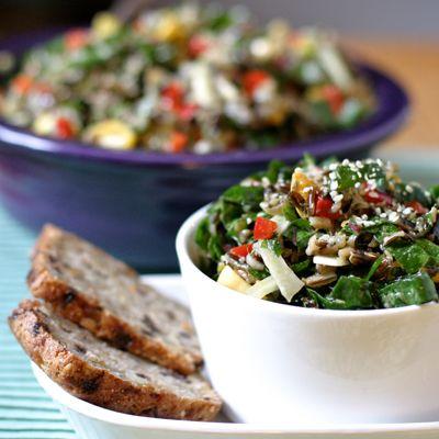 Nutrient Dense Emerald City Salad HealthyAperture.com