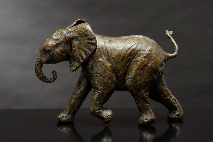 Youthful Exuberance - Bronze Sculpture by Bruce Little