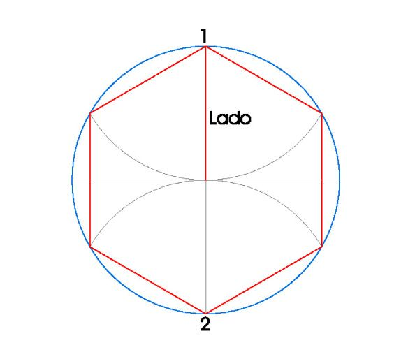 Polígonos Inscritos En Circunferencias Poligono Circunferencia Educación Plástica Y Visual