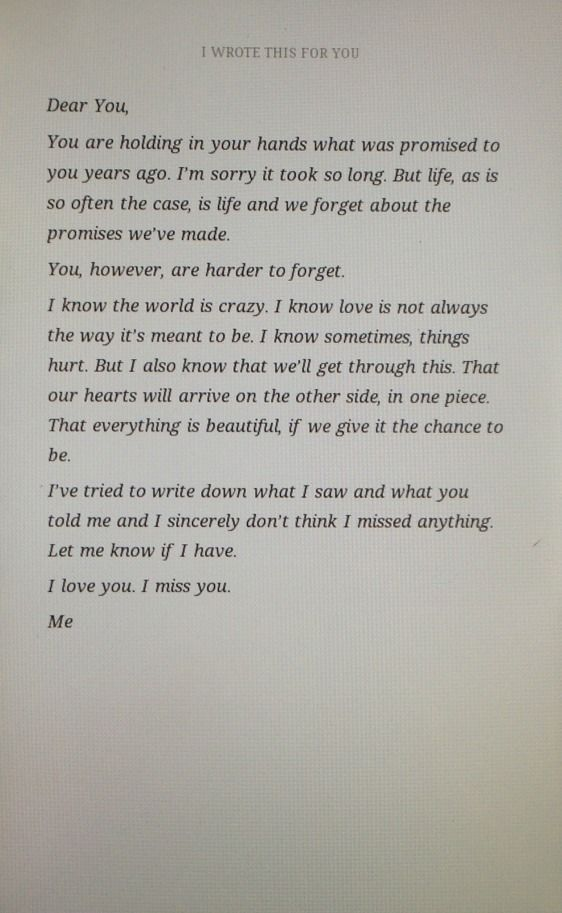 17 Best images about Love letters on Pinterest | A love, Open when ...