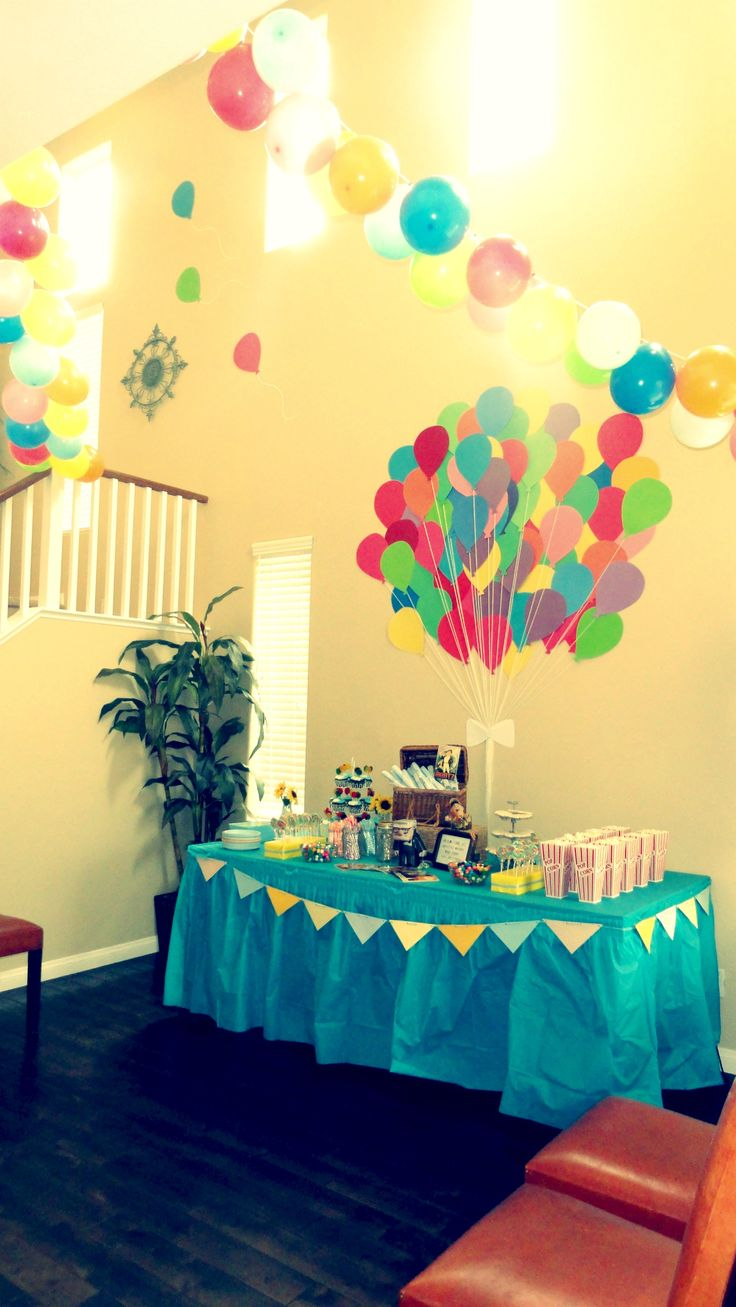 17 best images about up theme party on pinterest themed for B day party decoration ideas