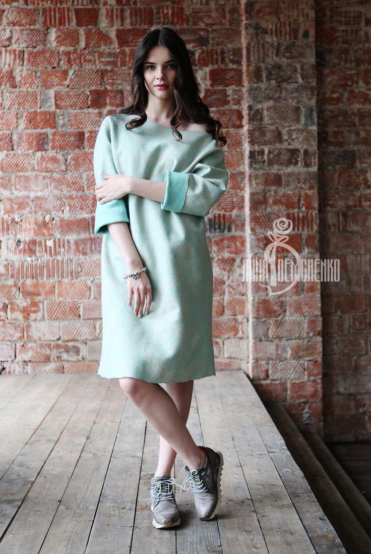 #fashion #style #love #cute #beautiful #girl #women #design #model #dress #styles #outfit #designer #irinademchenko #summertime #summer #felt #feltfashion #2015 #new