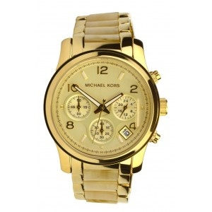 Reloj Michael Kors dorado. www.sanci.es