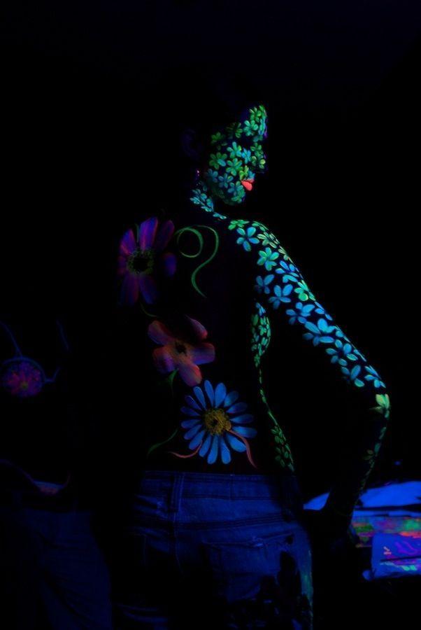 Glow In The Dark Body Paint Xoxo Body Paint