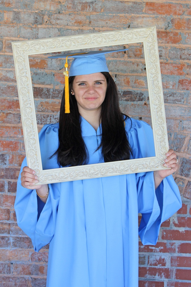 Cap and Gown Graduation pic