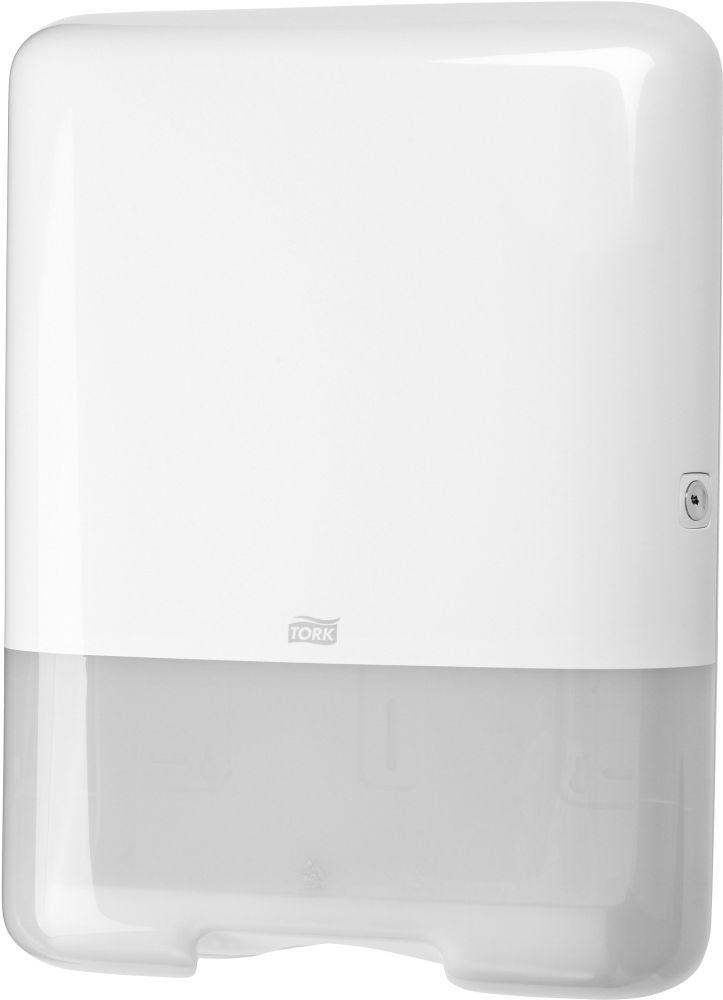 Dispenser prosoape pliate Tork 553000 compatibil cu o gama variata de prosoape pliate.