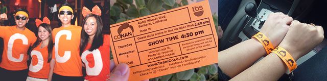 honeymooN DONT FORGET  Conan Free Tickets Request @ TeamCoco.com