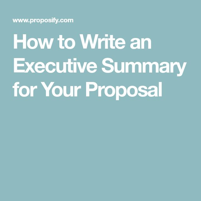 The 25+ best Executive summary ideas on Pinterest Writing a - executive report template