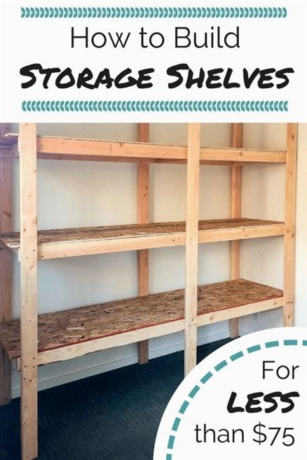 get your garage basement or shed organized with this inexpensive rh pinterest com mx