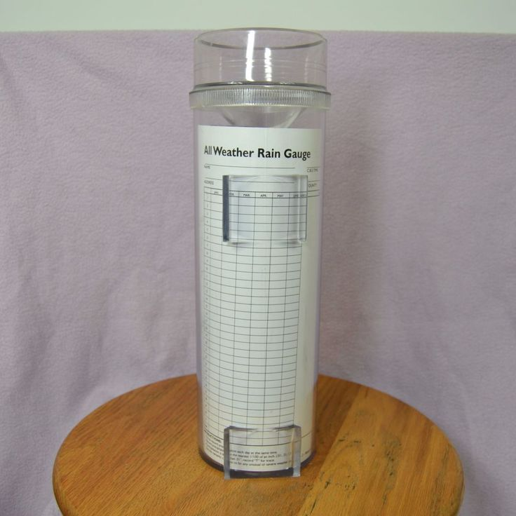 """Professional All Weather Rain Gauge RG202 By Productive Alternatives 14"""" High #ProductiveAlternatives"""