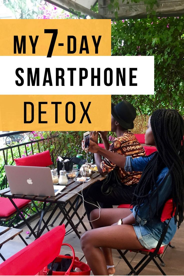 Are you addicted to your phone? Here's a Smartphone detox inspiration to help.