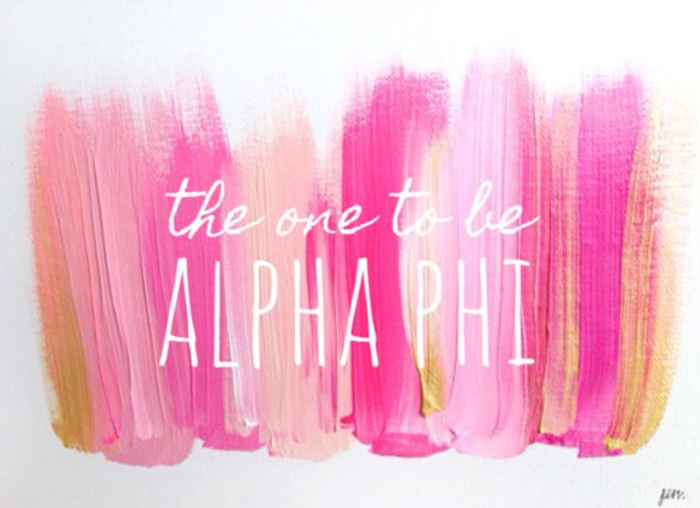 The very best girls go Alpha Phi