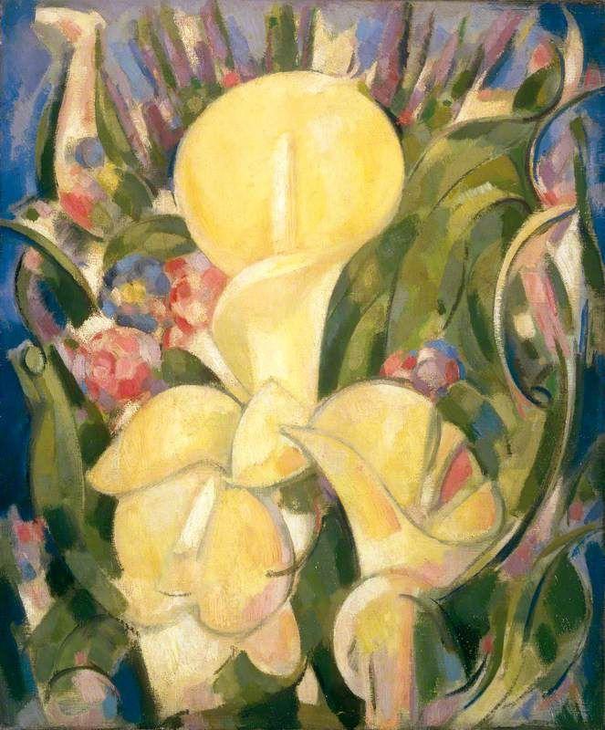 John Duncan Fergusson 1874-1961  Lilies