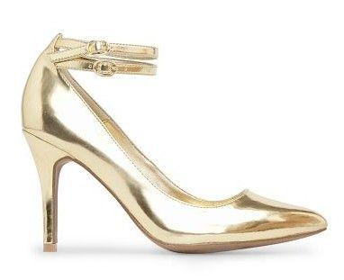 Zapatos dorados <3